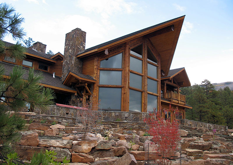 Colorado Mountain Home House Plans